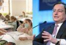 Draghi punta sulla scuola: vorrebbe prolungare l'anno scolastico fino alla fine di Giugno