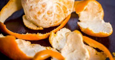 La buccia di mandarino può risolvere questi 7 problemi senza l'aiuto di farmaci: non buttarle!