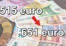 Importante novità dell' Inps dal 2022: le pensioni minime passeranno da 515 euro a 651